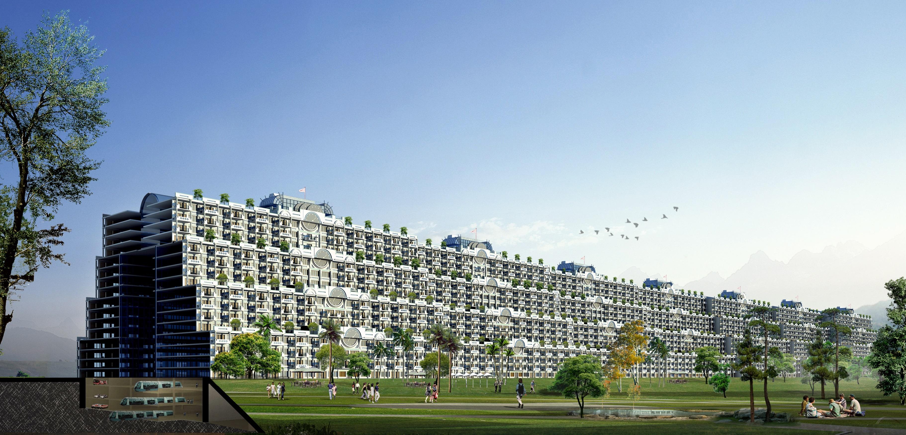 Modern urbanism